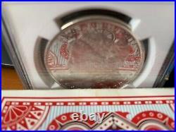 1885 NGC MS62DPL Morgan Dollar, beautiful DMPL coin