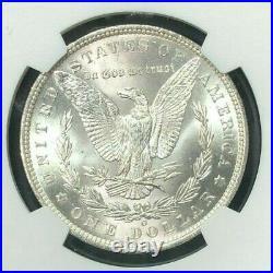 1885-o Morgan Silver Dollar Ngc Ms 65+ Beautiful Coin Ref#29-011