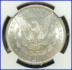 1885-o Morgan Silver Dollar Ngc Ms 66 Beautiful Coin Ref#39-015