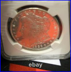1886 P Ms 62 Frosty Pl Mirrors! Proof Like Coin Morgan Silver Dollar Ngc Beauty