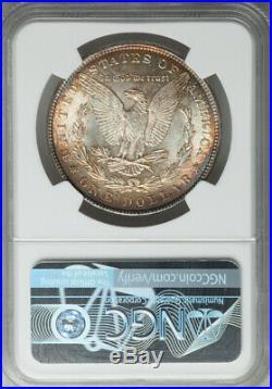 1887 $1 Morgan Dollar NGC + CAC MS66+ Beautiful Gem Coin with Light Toning