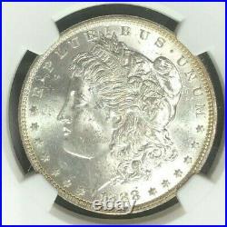 1888-o Morgan Silver Dollarngc Ms 64beautiful Coingreat Northwest Ref#20-033
