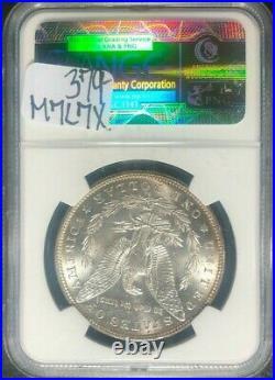 1888-s Morgan Silver Dollar Ngc Ms 62 Beautiful Coin Ref#81-003