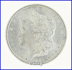 1891-CC Silver Morgan Dollar NGC MS64 S$1 Carson City Beautifully Struck Coin