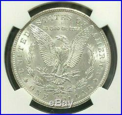 1891-cc Morgan Silver Dollar Ngc Ms 63 Beautiful Coin Ref#23-007