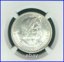 1892 Columbian Expo Commemorative Half Dollar Ngc Ms 65 Beautiful Coinref#010