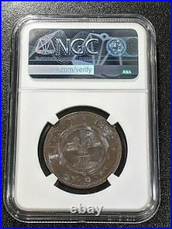 1892 MS65 BN South Africa Penny KM 2 NGC ZAR Beautiful Coin