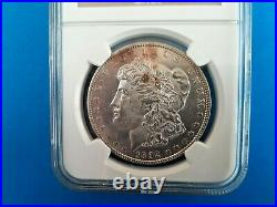 1892 Morgan Silver Dollar NGC MS 63 Beautiful Coin Rare Date