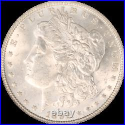 1892-P Morgan Silver Dollar NGC Graded MS-62 Beautiful High Quality Coin