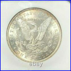 1892-cc Morgan Silver Dollar Ngc Ms 62 Beautiful Coin Ref#60-030