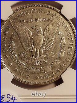 1894 Morgan Silver Dollar, BEAUTIFUL COIN! LE854 VERY SCARCE BRILLIANT CLEANED