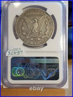 1895 O Morgan Dollar. Ngc Certified F 15. Good Details! Beautiful Coin! Le478