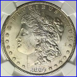 1896 MS 63 Morgan Silver Dollar Silver Coin NGC Mint State 63 Lustrous Beauty