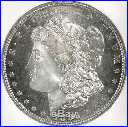 1896 Morgan Silver Dollar NGC MS65 DPL DMPL LQQKS 66! Beautiful Coin