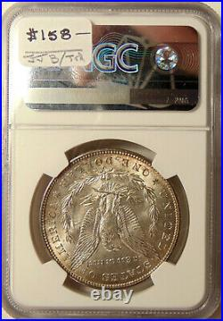1898-O Morgan Silver Dollar NGC MS65 Beautiful GEM BU Coin FREE SHIPPING