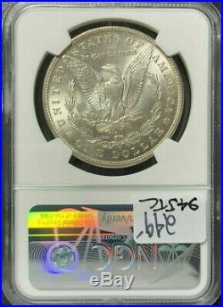 1898-o Morgan Silver Dollarngc Ms 66 Beautiful Coin Ref#39-016