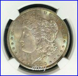 1900 Morgan Silver Dollar Ngc Ms 65 Beautiful Coin Ref#54-010