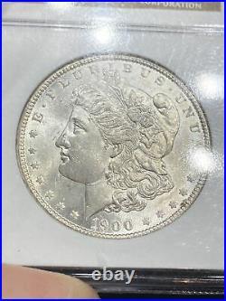 1900-O Morgan Silver Dollar NGC MS64 Beautiful Coin! Nice Original