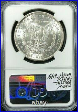 1900-o/cc Morgan Silver Dollar Ngc Ms 62 Top 100 Beautiful Coin