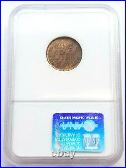 1909-s Vdb Lincoln Wheat Penny Ngc Ms65 Rb Key Date Old Holder Beautiful Coin