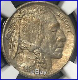 1913 D Buffalo Nickel Type 2 Ngc Au58 Beautiful Higher Grade Coin