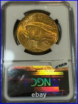 1914-S beautiful Saint Gaudens $20 U. S. GOLD double eagle. NGC #nkud007