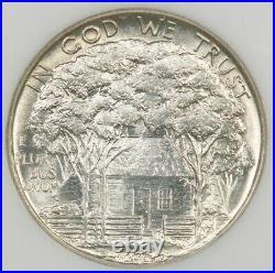 1922-P 1922 Grant Classic Commemorative NGC MS65 beautiful creamy white coin