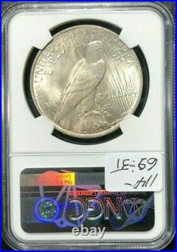 1922 Peace Silver Dollar Ngc Ms 65 Beautiful Coin Ref#91-003