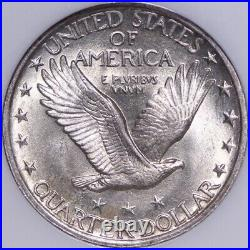 1923 Standing Liberty Quarter NGC MS63 Beautiful Coin! FREE SHIPPING 2-UNNM