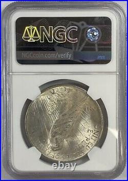 1924 Peace Silver Dollar NGC MS65 Gem Mint Beautiful Lustrous Piece Carat Coin