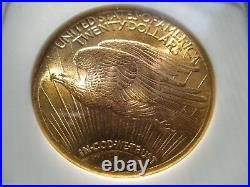 1924 St. Gaudens $20 Double Eagle NGC Grade MS65 BEAUTIFUL COIN