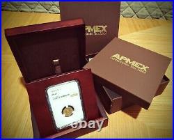 1925 D Indian Quarter Eagle NGC MS 63 Beautiful GOLD Coin + Showcase Box