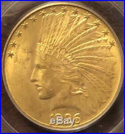 1926 $10 Indian Head Gold Eagle, PCGS MS 63 Beautiful Coin