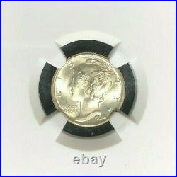 1934 Mercury Silver Dime Ngc Ms 67 Beautiful Coin Ref#30-002