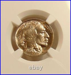 1935-D Buffalo Nickel Better Date NGC MS65 Beautiful GEM BU Coin