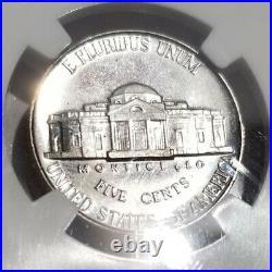 1938-p Jefferson Nickel Ngc Pr65 Blazing White Beautiful Nice Coin