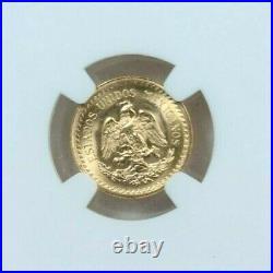 1945 Mexico Gold 2.5 Pesos Restrike Ngc Ms 67 Stunning Pq Gem Bu Beauty