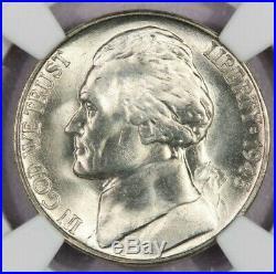 1945-S Jefferson Nickel NGC MS67 5FS FS Beautiful flashy coin