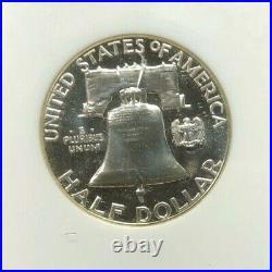 1957 Franklin Silver Half Dollar Ngc Pf 68 Cameo Beautiful Coin