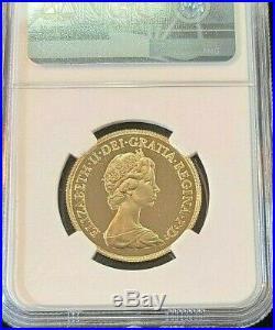 1983 Great Britain Gold 2 Sovereign Ngc Pf 69 Ultra Cameo High Grade Beautiful