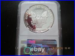 1986 S Eagle $1 PF69 Ultra Cameo Mercanti Auto. BEAUTIFUL Frosted. 5 day sale