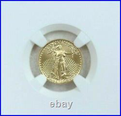1989 American Gold Eagle 5 Dollars G$5 Ngc Ms 69 High Grade Beauty