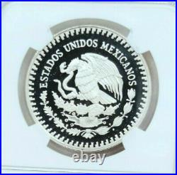 1990 Mexico Silver Libertad 1 Onza Ngc Pf 69 Ultra Cameo Scarce Beautiful Coin