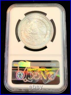 1995 Mexico Silver Libertad 1 Onza Ngc Ms 68 Gem Bu Beautiful Great Coin