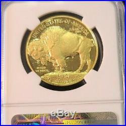 2006 W Buffalo Gold $50.9999 Fine Ngc Pf 70 Ultra Cameo Beautiful Perfection