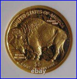 2008 W Buffalo Gold Early Releases $5 Coin, NGC PF 70 ULTRA CAMEO Beautiful