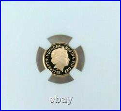 2009 Great Britain Gold 1/4 Sovereign Ngc Pf 69 Ultra Cameo Beautiful Coin