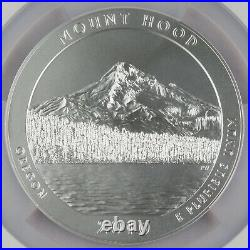 2010 P Mount Hood America the Beautiful 5 Oz Silver Coin NGC SP69 Early Releases