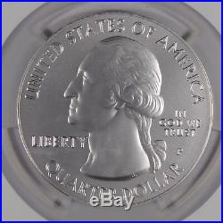 2010-P Yosemite America the Beautiful 5 oz Silver SP70 NGC Early Release