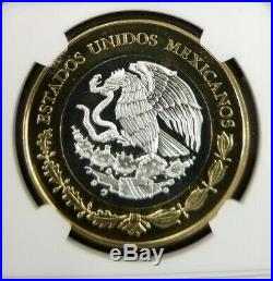 2011 Mexico S100p 1914 Caballito Peso Ngc Pl 69 High Grade Beautiful Coin Scarce